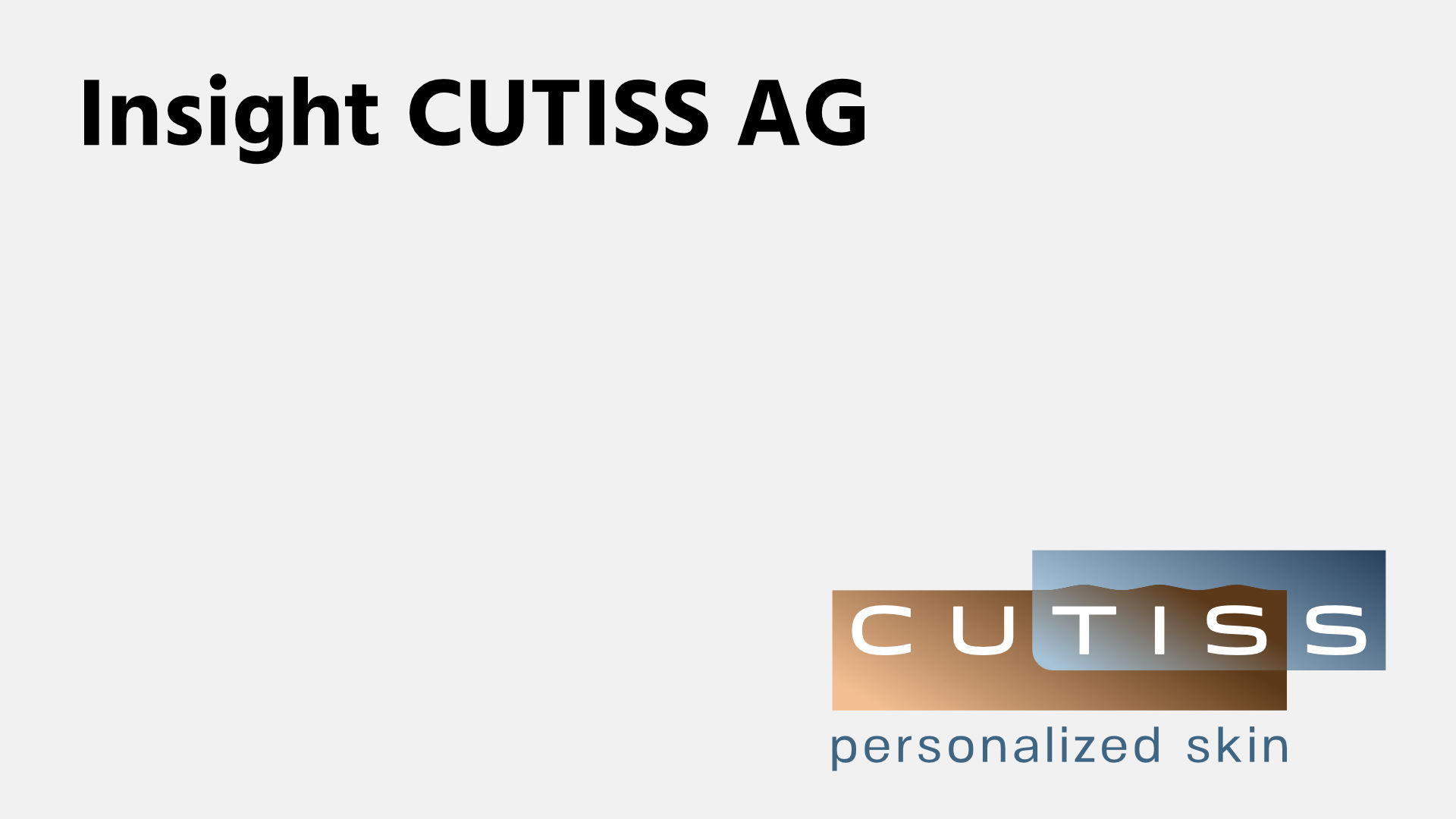 Insight CUTISS AG Video Overlay-Mobile